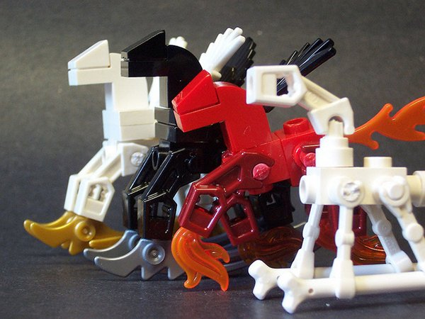 lego my little post apocalyptic pony by matt armstrong