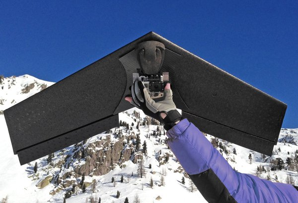 Lehmann LA100 Drone Flies Solo with Your GoPro