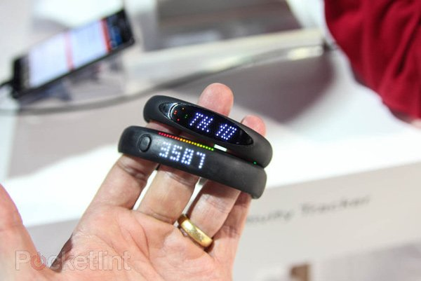 lg smart activity tracker fuelband ces photo
