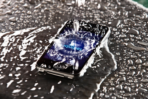 liquipel 2 nano coat phone water photo