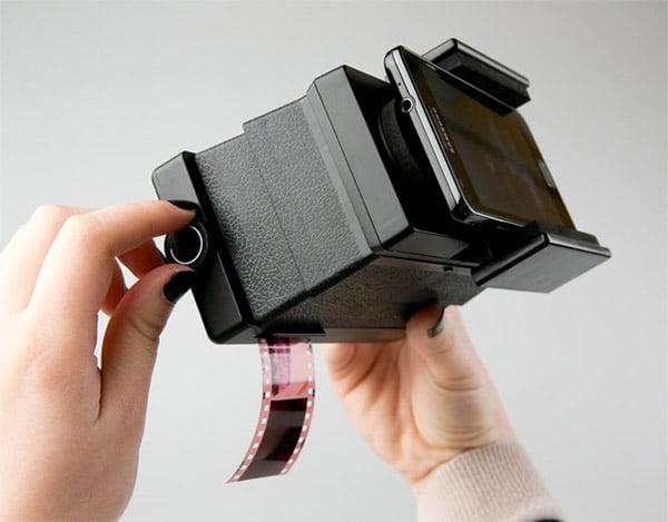 Lomography Smartphone Film Scanner Hits Kickstarter