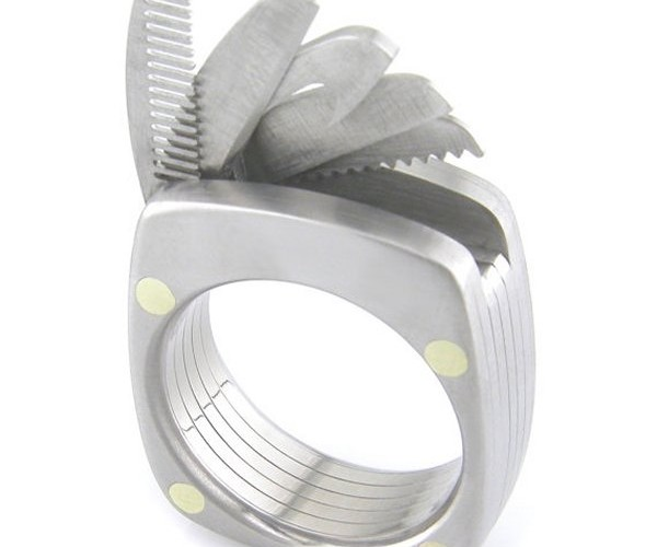 The Man Ring Titanium Utility Ring is the Only Jewelry a Man Needs