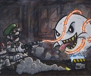Mario and Luigi as Ghostbusters: Who Ya Gonna Call?