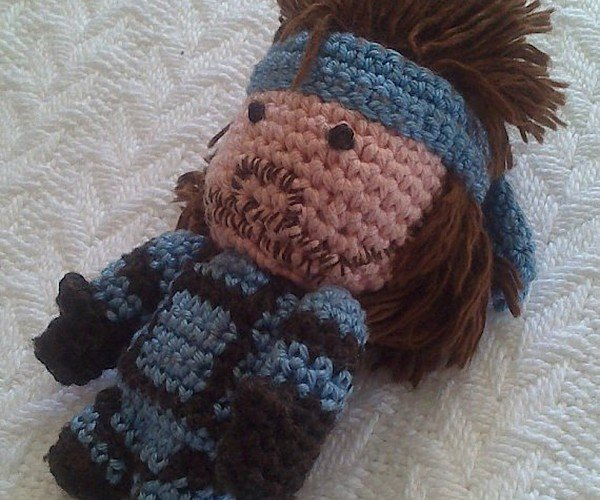 Solid Snake Amigurumi Will Sneak His Way into Your Heart