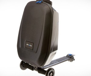 Micro Scooter Luggage Helps Make Airports Less Boring, More Dangerous