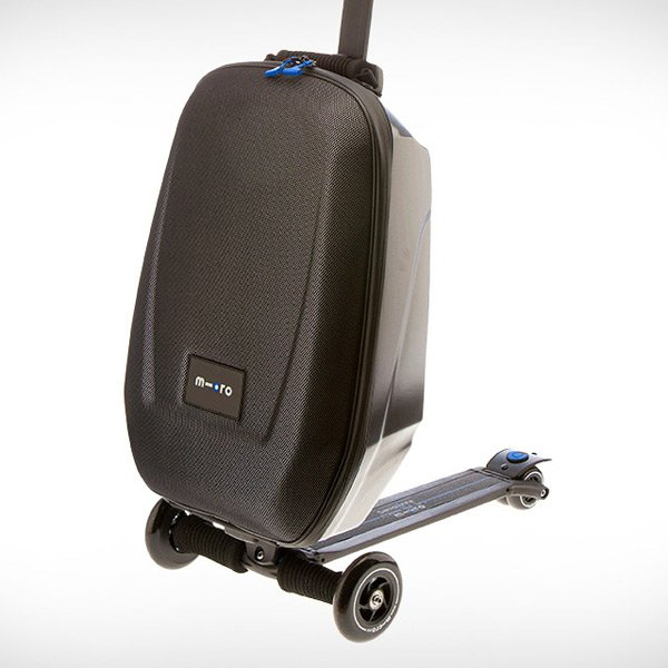 micro scooter luggage photo