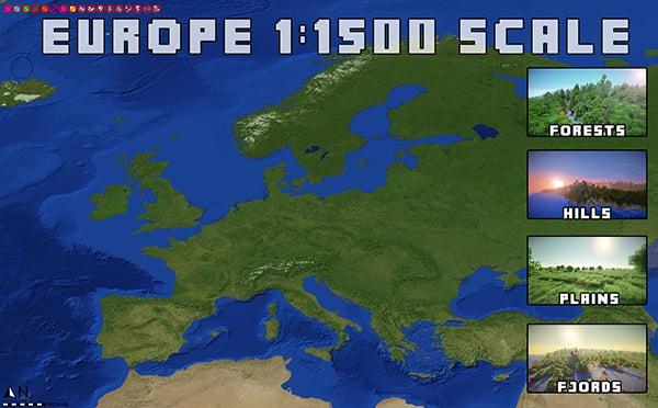 Nissan Leaf Lease >> Minecraft 1:1500 Scale Earth Map: Yo Dawg... - Technabob