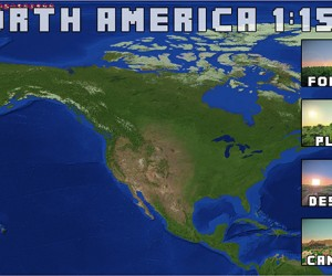 Minecraft 1:1500 Scale Earth Map: Yo Dawg…