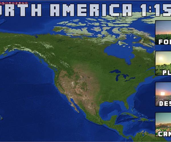 Minecraft 1:1500 Scale Earth Map: Yo Dawg…