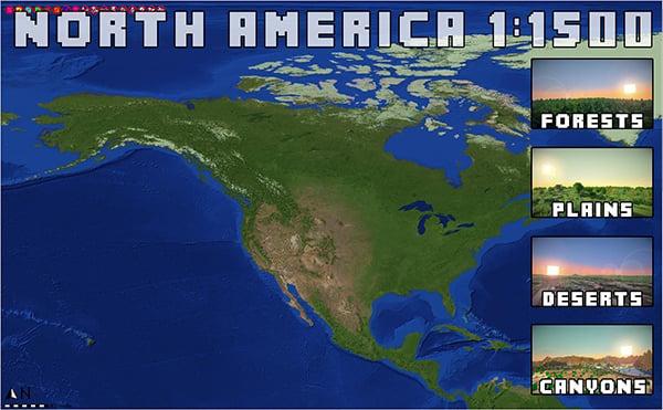 Minecraft 1:1500 Scale Earth Map: Yo Dawg...