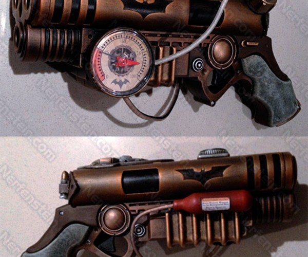Steampunk Batman Blaster Pistol: Where Does He Get All Those Wonderful Toys?