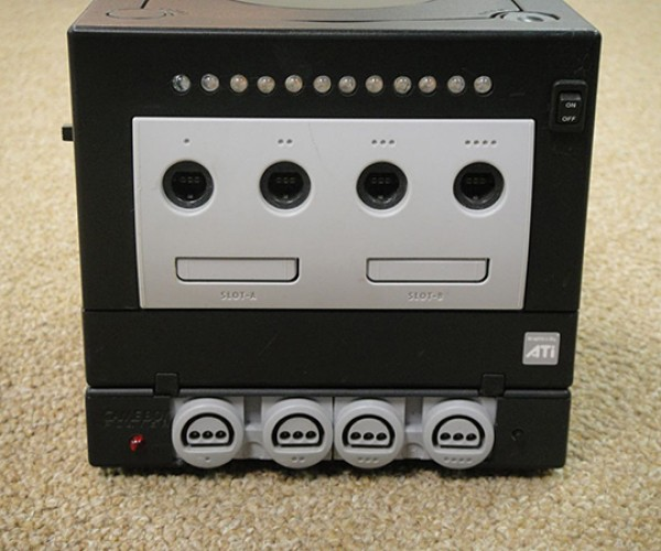 Nintendo 64 Stuffed in Game Boy Player, Makes GameCube Backwards Compatible