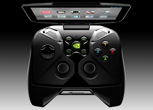 nvidia project shield top open controls