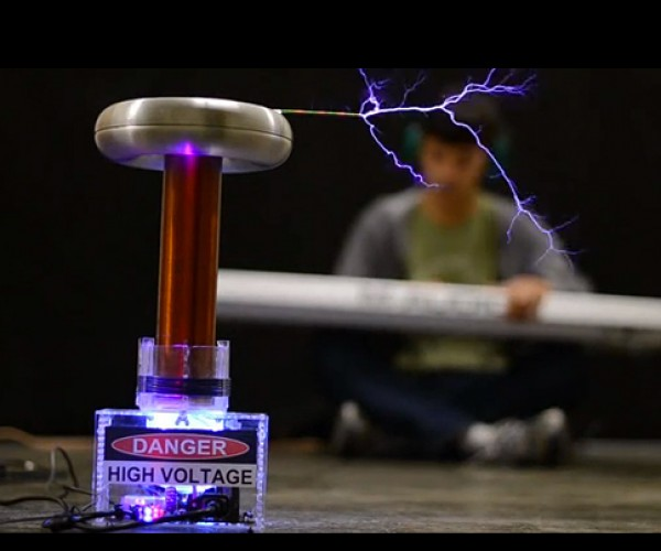 oneTesla Tesla Coil DIY Kit: Make Your Own Singing Lightning