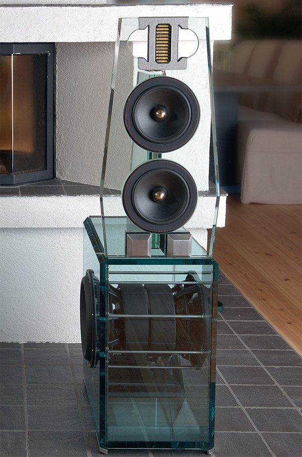 Point Mkii Evolution Speakers See Through To Their Souls