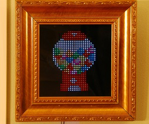 PIXEL Interactive Picture Frame Adds a Bit of Pixel Art Into Your Room