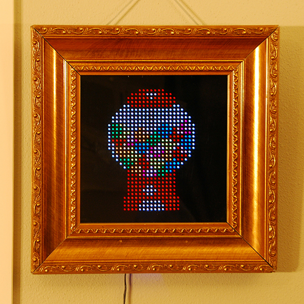 pixel interactive led picture frame by al linke
