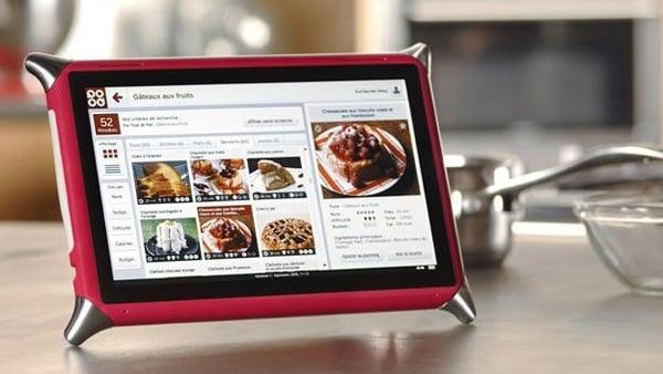 qooq tablet kitchen use photo