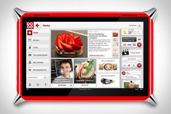 qooq tablet kitchen photo