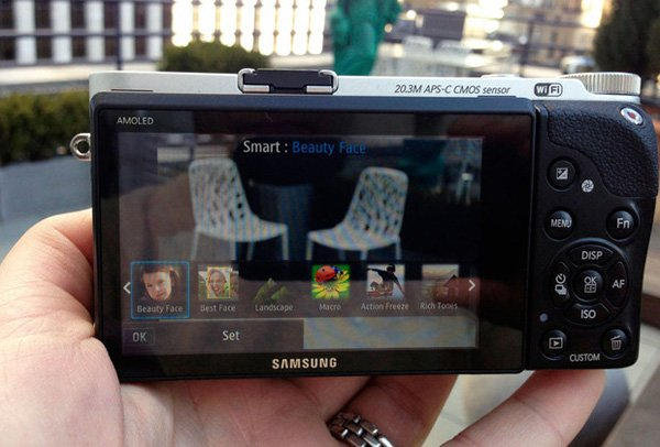 samsung nx300 camera amoled