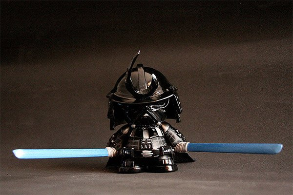 Darth Vader Samurai: Turning Japanese