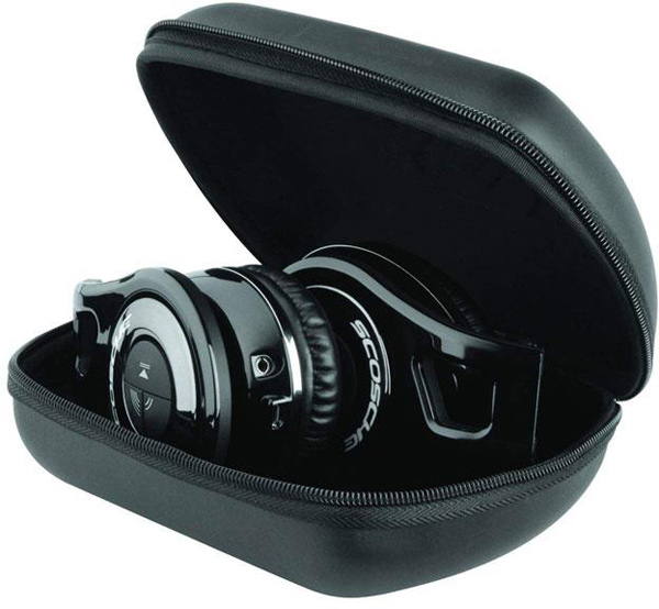 scosche RH1060 bluetooth headphones closed