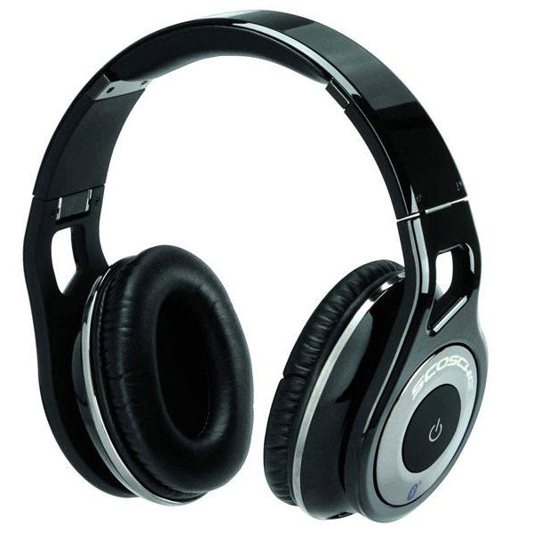 scosche RH1060 bluetooth headphones open photo