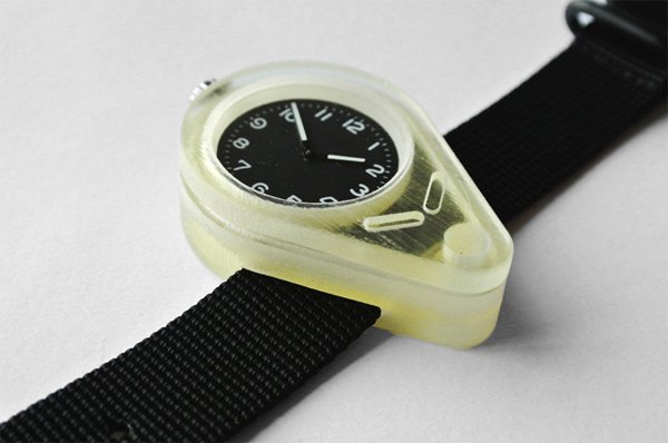 shifted watch paul kweton 3d printed close photo