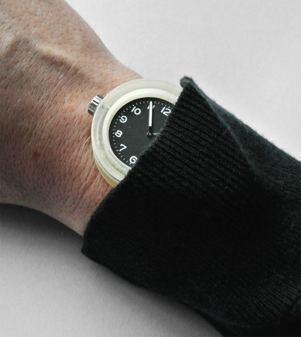 shifted watch paul kweton 3d printed on hand