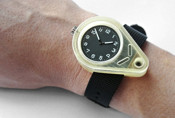 Shifted 3D Printed Watch: It's Time to Print the Time