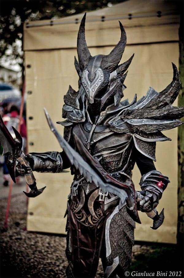 skyrim daedric armor 3