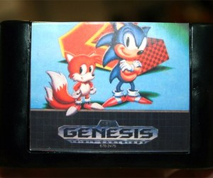Sonic the Hedgehog Cartridge Soap Scrubs off the Stench of Eggman