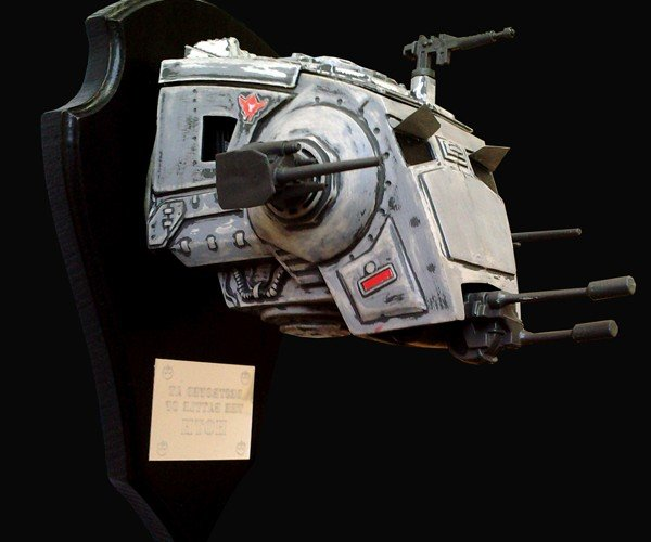 Star Wars AT-ST Trophy Heads Fit for a Rebel's Man Cave