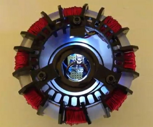 Iron Man Arc Reactor Marriage Proposal Device for When an Iron Man Meets an Iron Woman