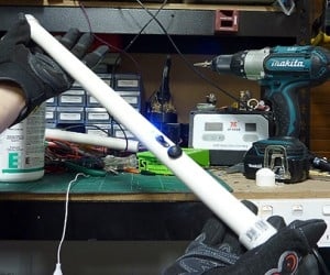 Homebrew Stun Baton: Dangerous DIY
