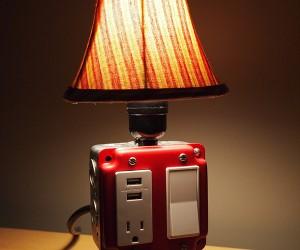 Table Lamp with Charging Station or Power Strip with Bulb?