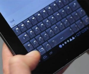 Tactus Touchscreen Tablet Has a Keyboard You Can Really Feel