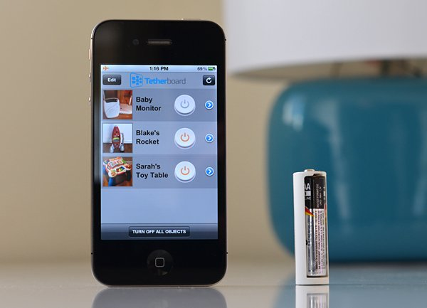 tethercell bluetooth enabled battery