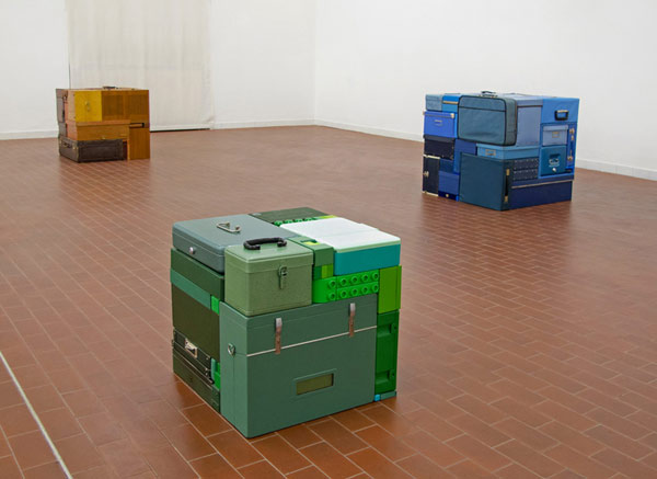 tetris sculptures real life photo