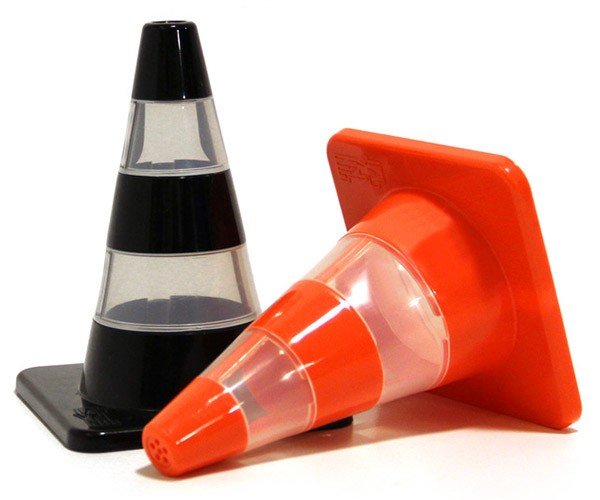 Traffic Cone Salt and Pepper Shakers are No Accident