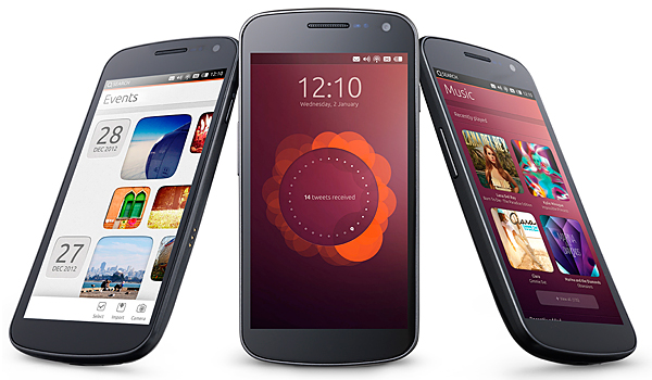 ubuntu on phones canonical