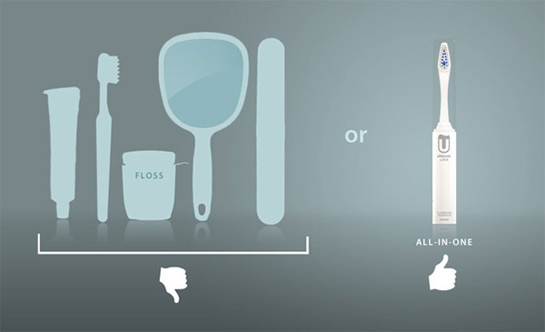 UltiBrush: The Swiss Army Toothbrush