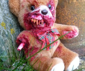 Zombie Teddy Bears: the Walking Ted
