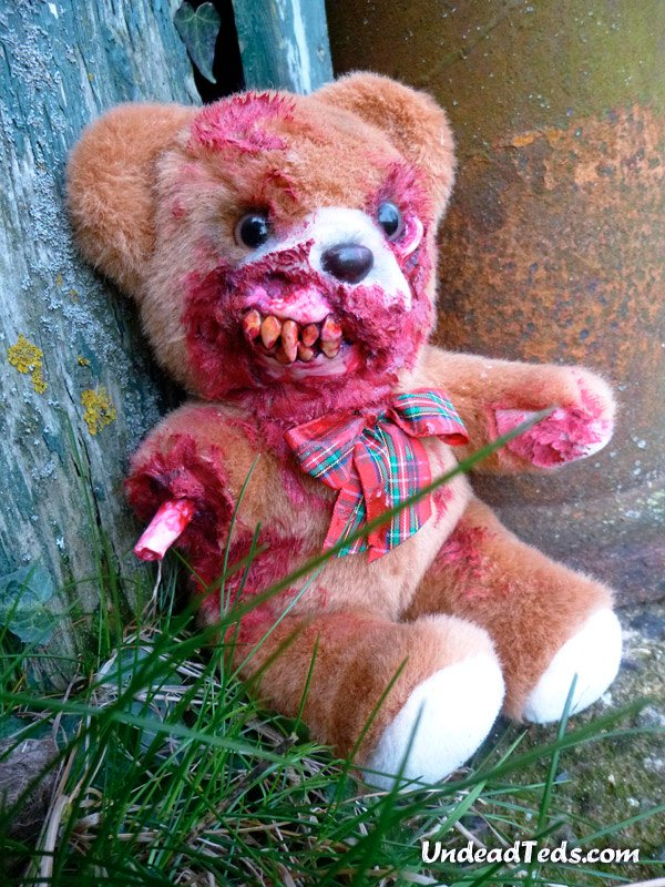 undead teddy bears