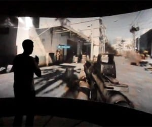 Amazing FPS Simulator Surrounds Players, Has Moving Floor
