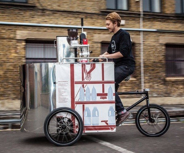 Make Way For Velopresso, the Coffee Shop on Wheels
