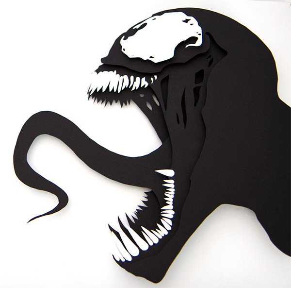Awesome 3d Paper Cut Pop Art Is X Acto Ly What You Want On