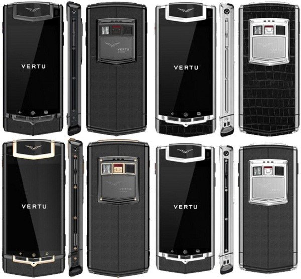 vertu constellation ti android touchscreen phone