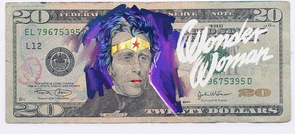 wonder woman dollar justice league