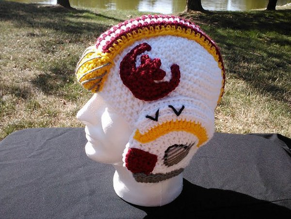 X-Wing Fighter Pilot Crochet Helmet: Knit Leader, Standing By
